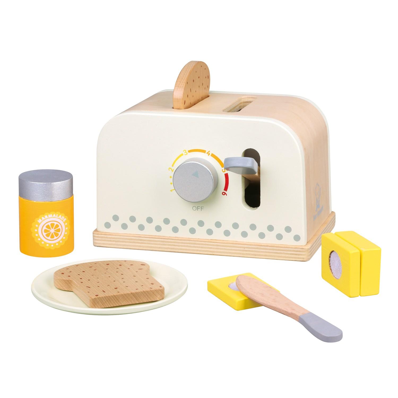Детски дървен тостер - детска дървена кухня и аксесоари - Bellamie