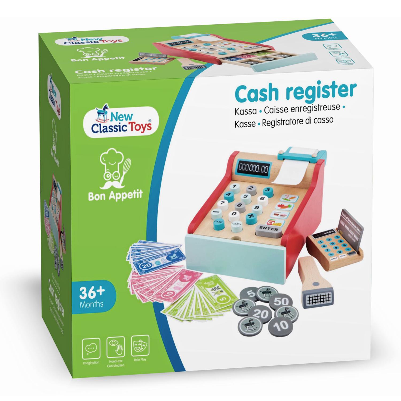 Детски касов апарат от New Classic Toys -дървена играчка(6)-bellamie