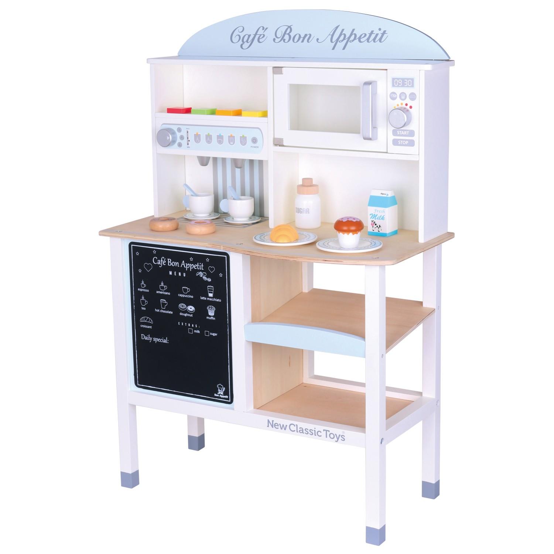 Детски дървен магазин за кафе от New Classic Toys - дървени играчки(1)-bellamie