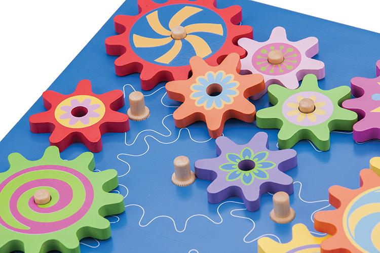 Дървена играчка Зъбчати колела-образователни играчки от New classic toys-bellamie