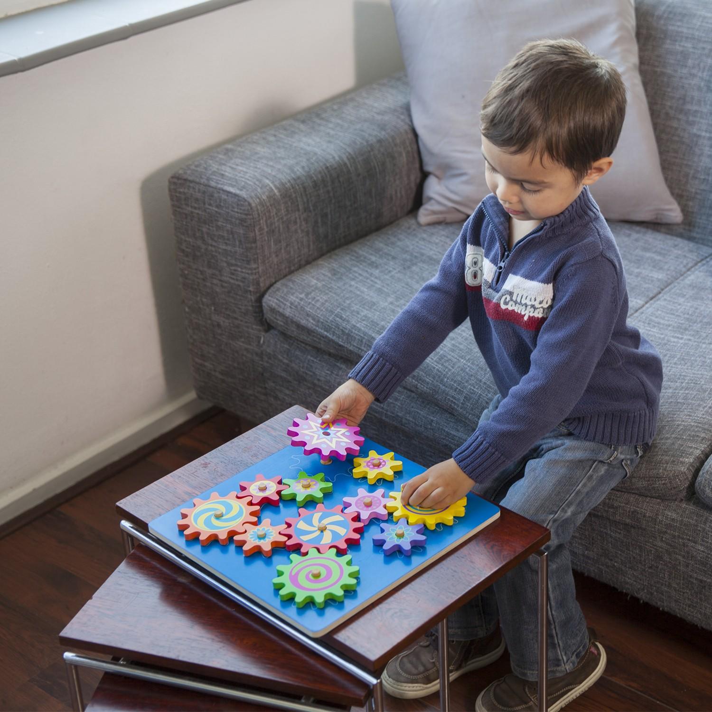 Дървена играчка Зъбчати колела-образователни играчки от New classic toys(3)-bellamie
