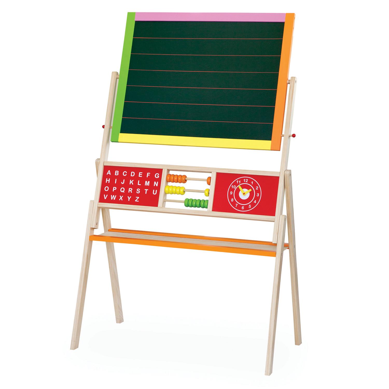Дървена магнитна дъска с две лица - образователни играчки от Viga toys-bellamie