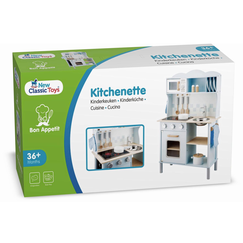 Модерна детска дървен кухня от New Classic Toys -дървена играчка(6)-bellamie