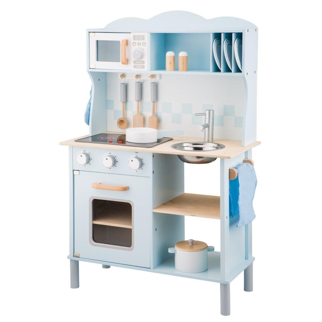 Модерна детска дървен кухня от New Classic Toys -дървена играчка(1)-