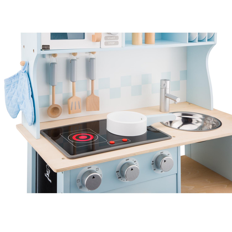 Модерна детска дървен кухня от New Classic Toys -дървена играчка(4)-bellamie