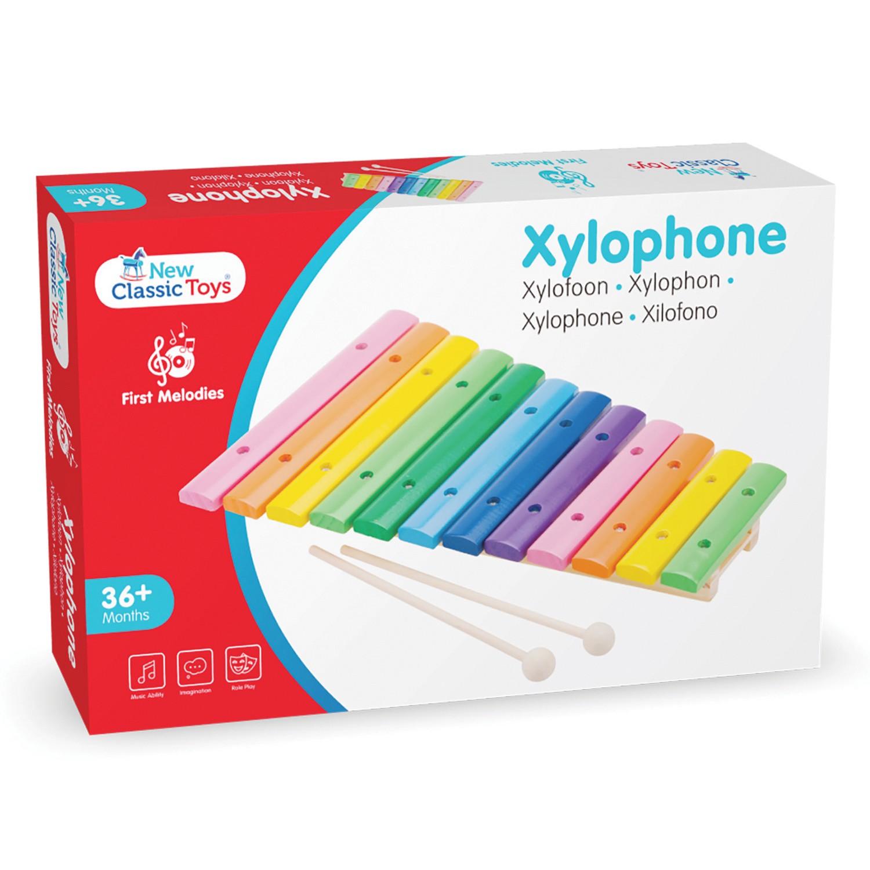 Детски ксилофон от New Classic Toys -Детски музикални инструменти (1)- Bellamie