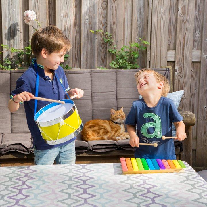 Детски музикални инструменти- дървен ксилофон от New classic toys-bellamiestore
