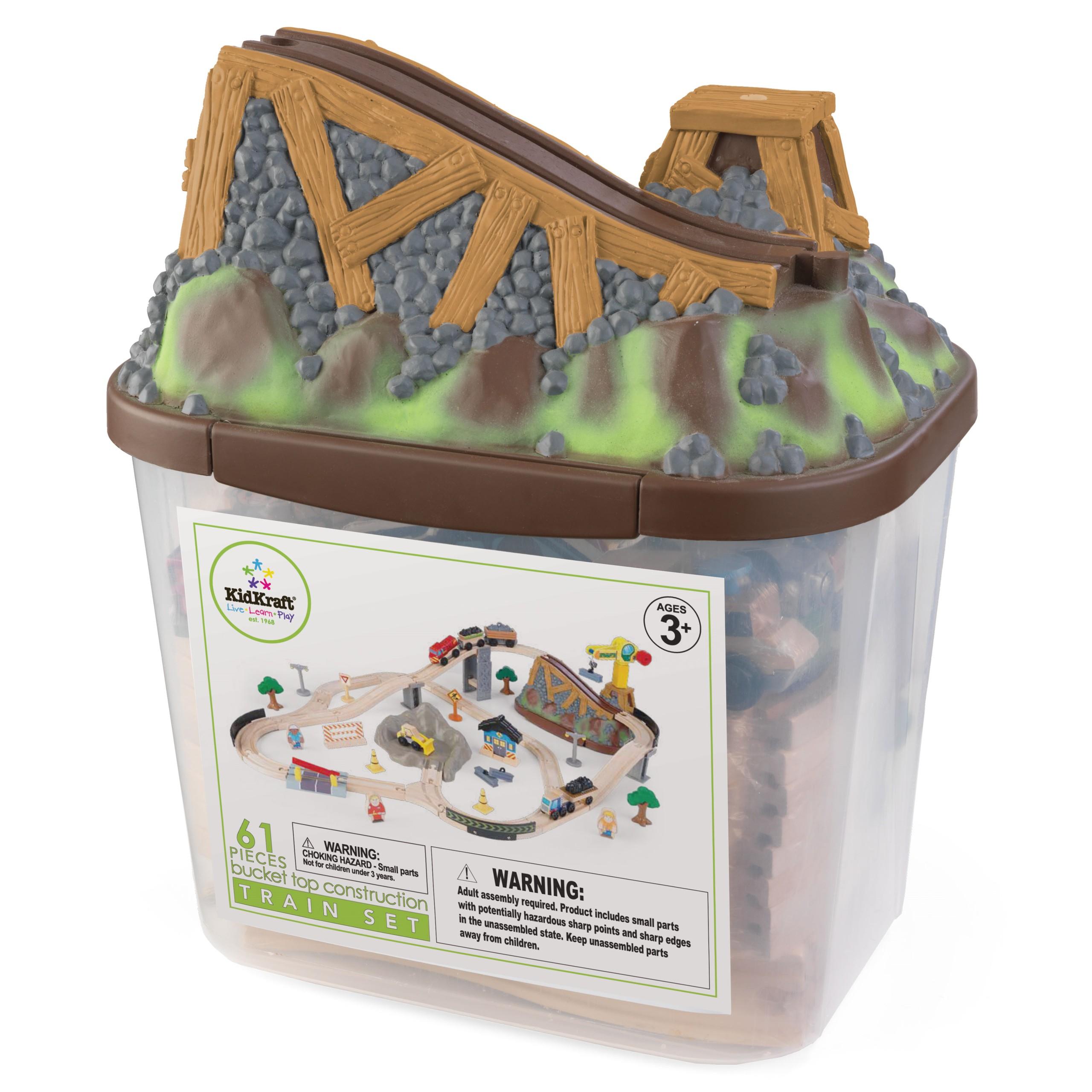 Детски дървен влак- Да копаем в мината от KidKraft-детски играчки за момчета(2)-bellamie