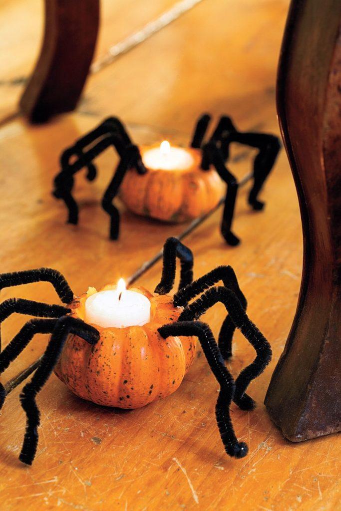 Свещници от тиква-Паячета-bellamiestore