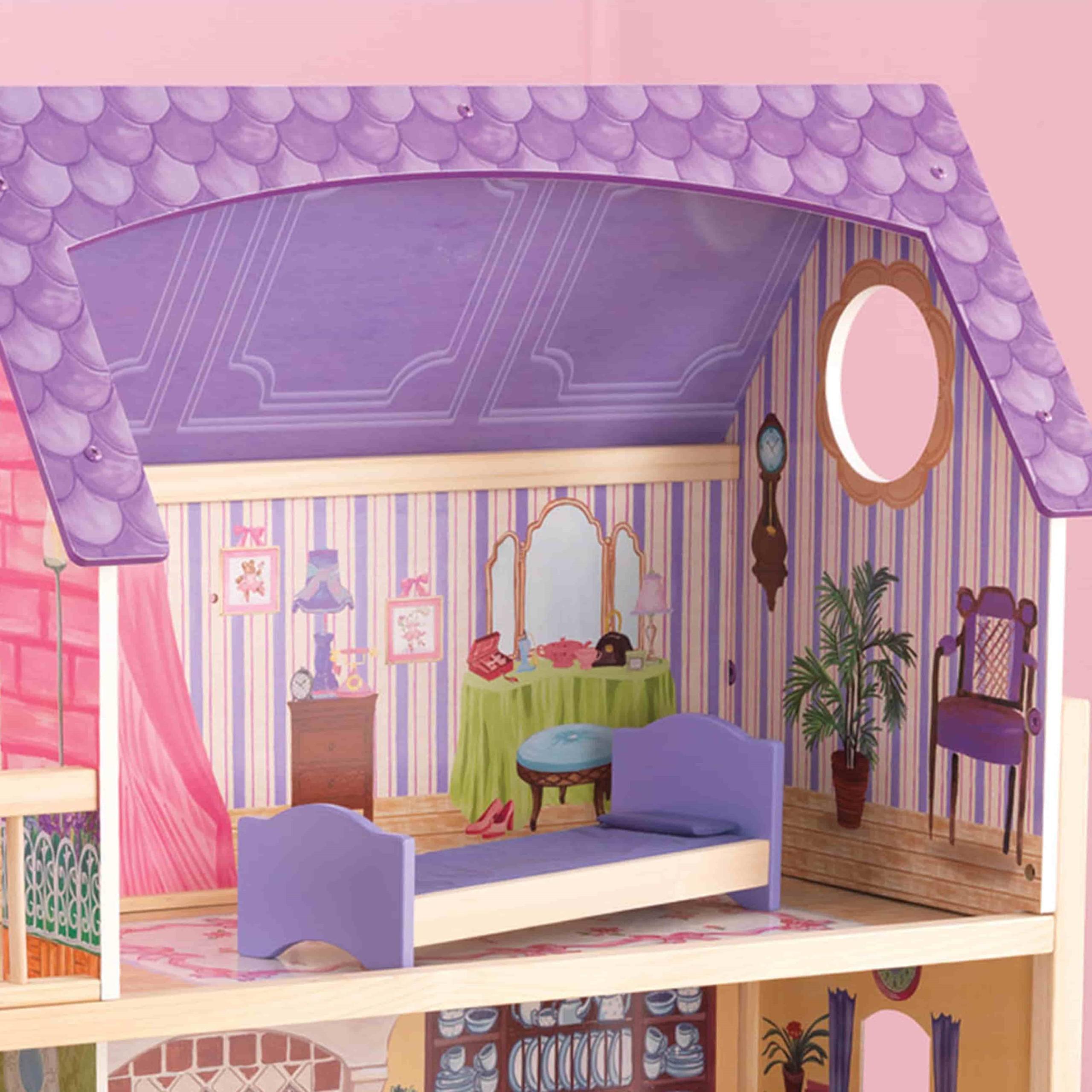 Къща за кукли от дърво – Кайла - Kidkraft дървени къщи за кукли(3)-bellamiestore