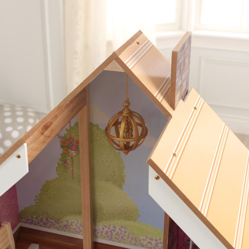 KidKraft дървена къща за кукли Жулиет-детски дървени играчки за момичета(7)-bellamiestore