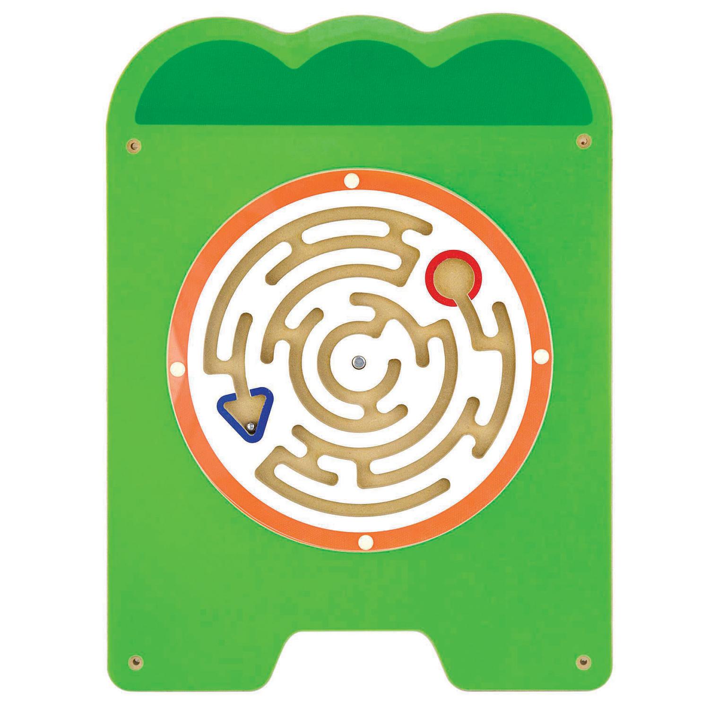 Дървена играчка за стена голяма - Крокодил-подходяща за детски градини и ясли от Viga toys(3)-bellamiestore