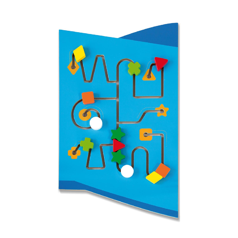 Дървена играчка за стена - Самолет от Viga toys- подходяща за детски градини и ясли(2)-bellamiestore