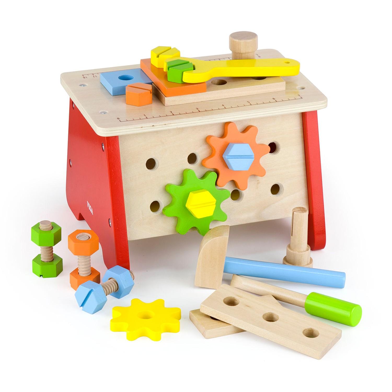 Детска дървена работилница - куфар с инструменти от Viga toys-bellamiestore