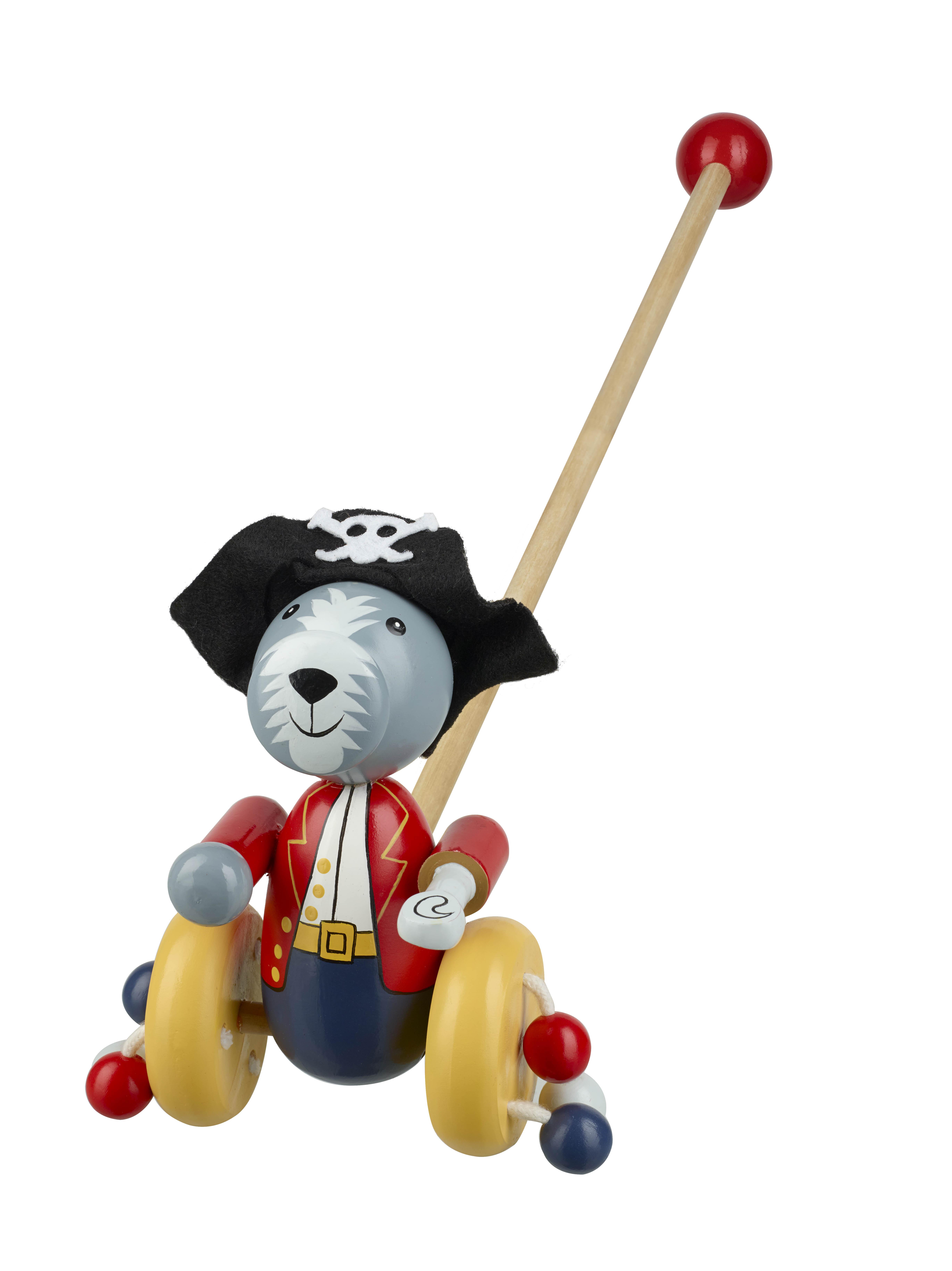 Детска буталка Куче пират от Orange Tree Toys - Дървени играчки-bellamiestore