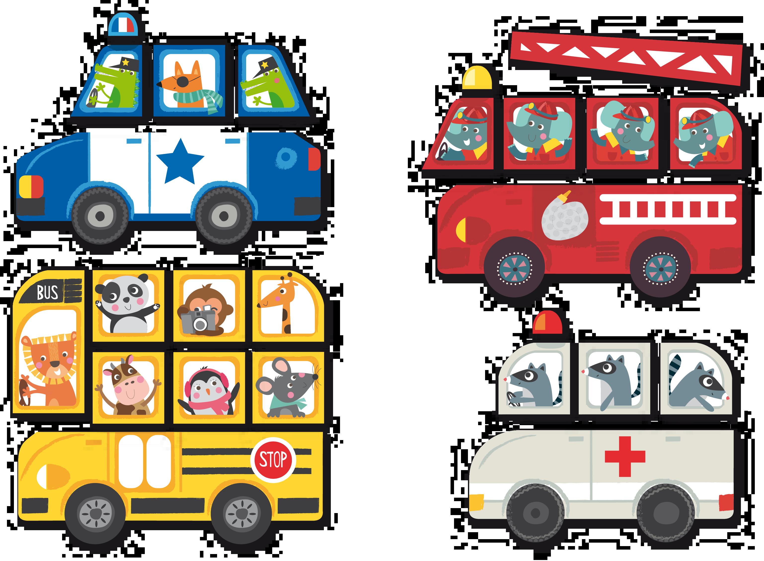 Автомобилите в града - образователна игра с магнити от Apli Kids - образователни играчки(1)-bellamiestore