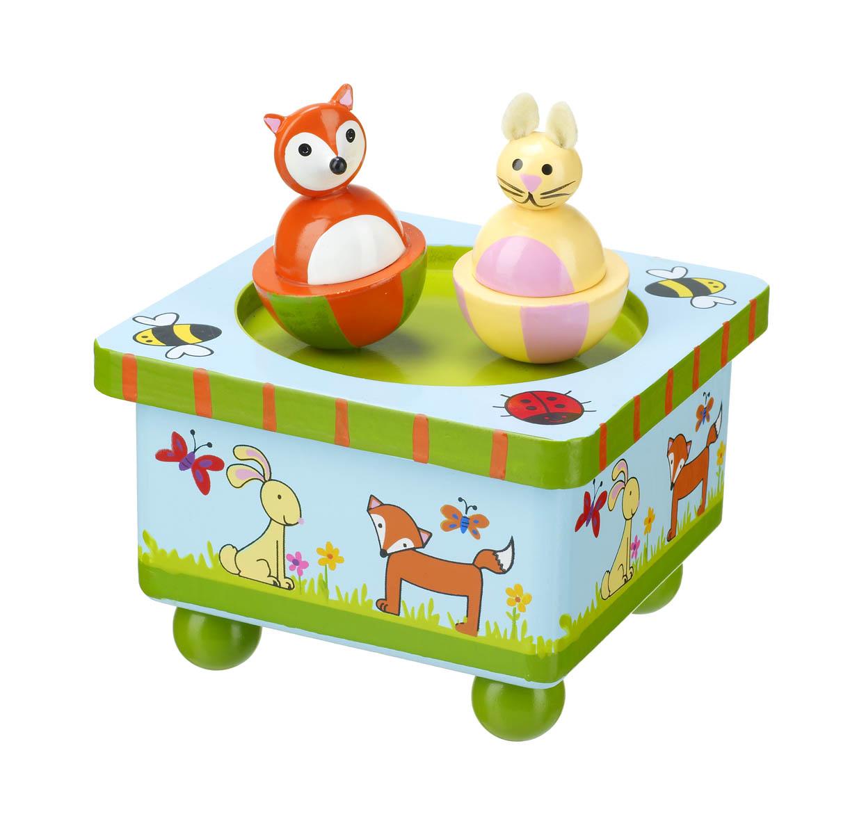 Дървена музикална кутийка - горска приказка - Orange Tree Toys - дървена играчка - Беллами