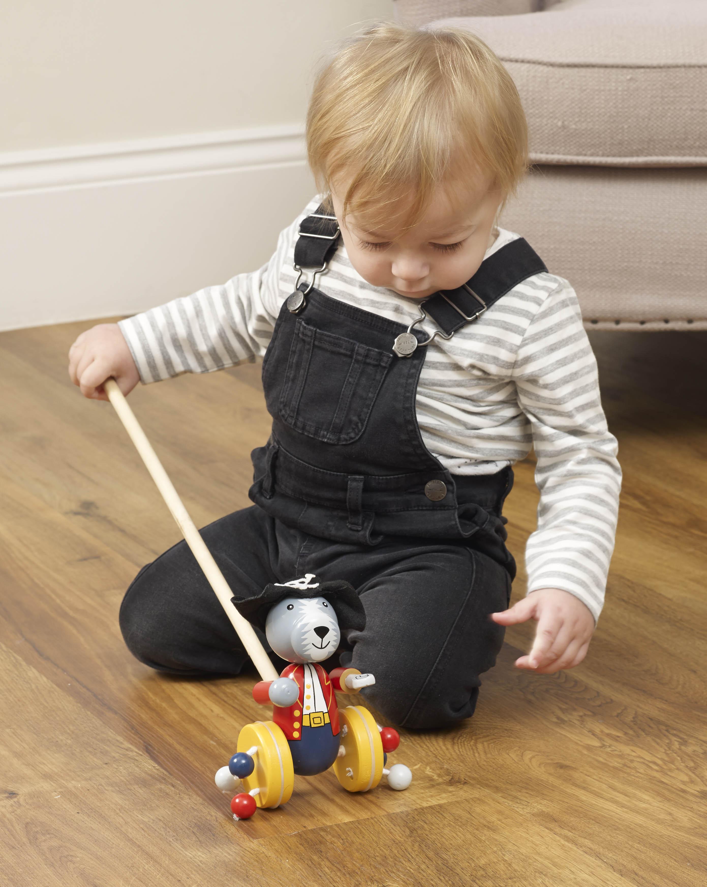 Детска буталка Куче пират от Orange Tree Toys - Дървени играчки(1)-bellamiestore