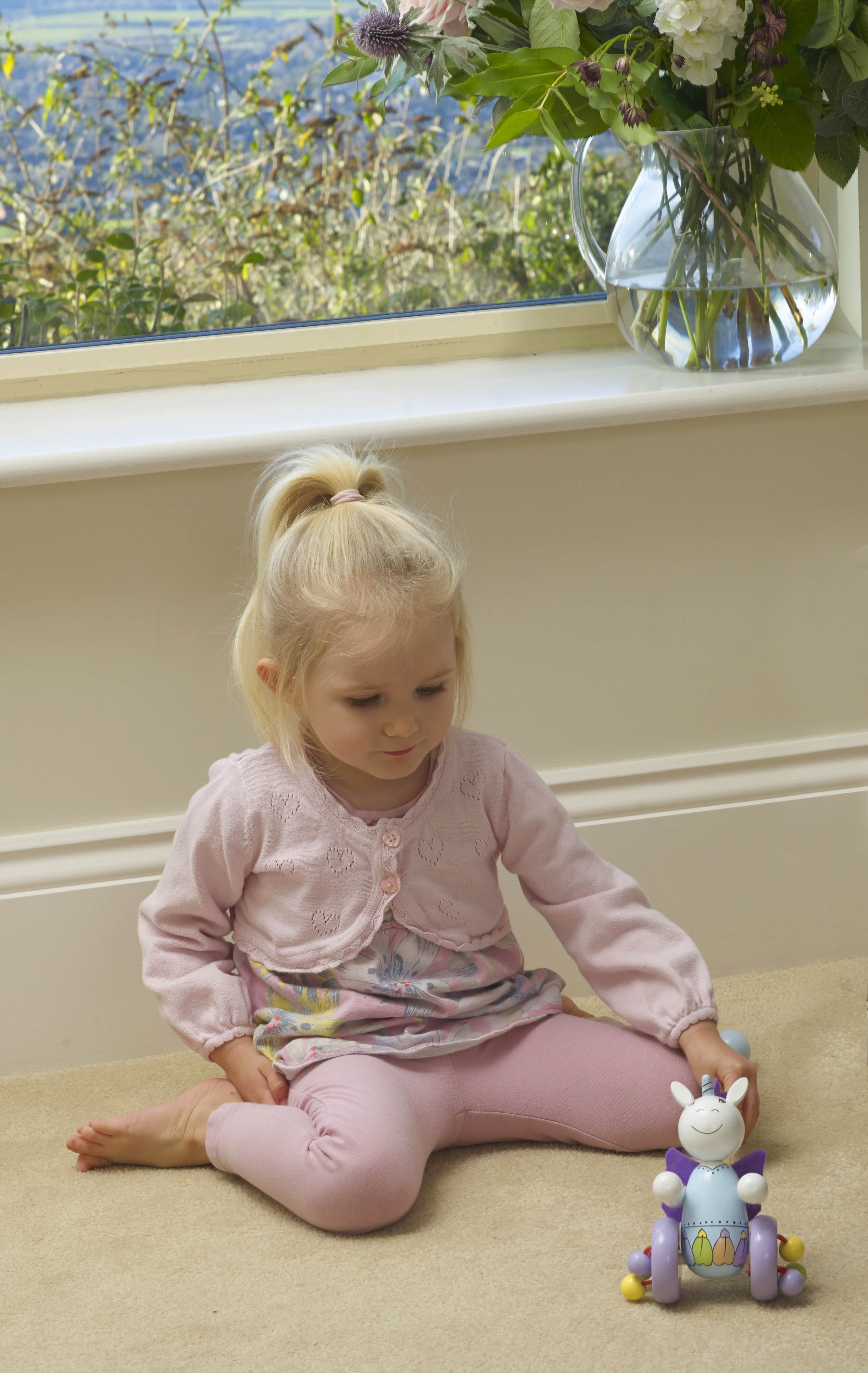 Детска дървена буталка - Еднорог от Orange Tree Toys - Bellamie store