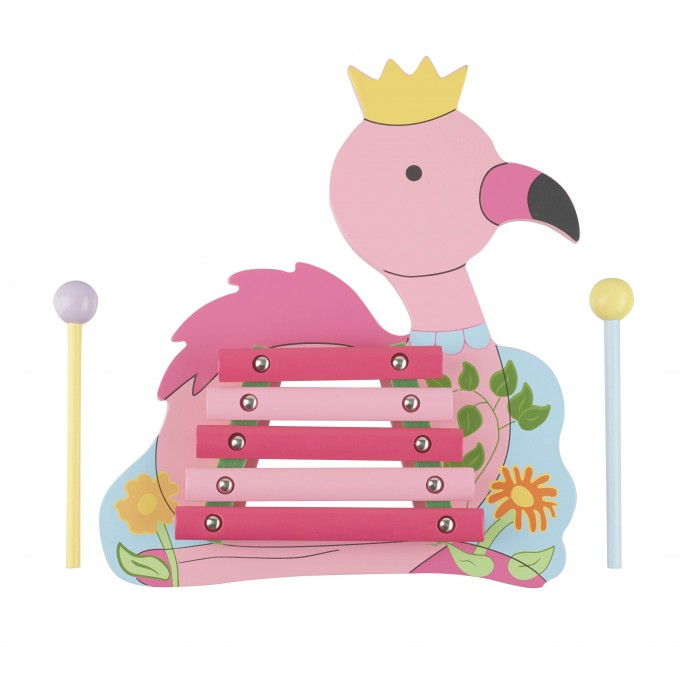 Детски ксилофон - Фламинго от Orange Tree Toys - Магазин Bellamie store