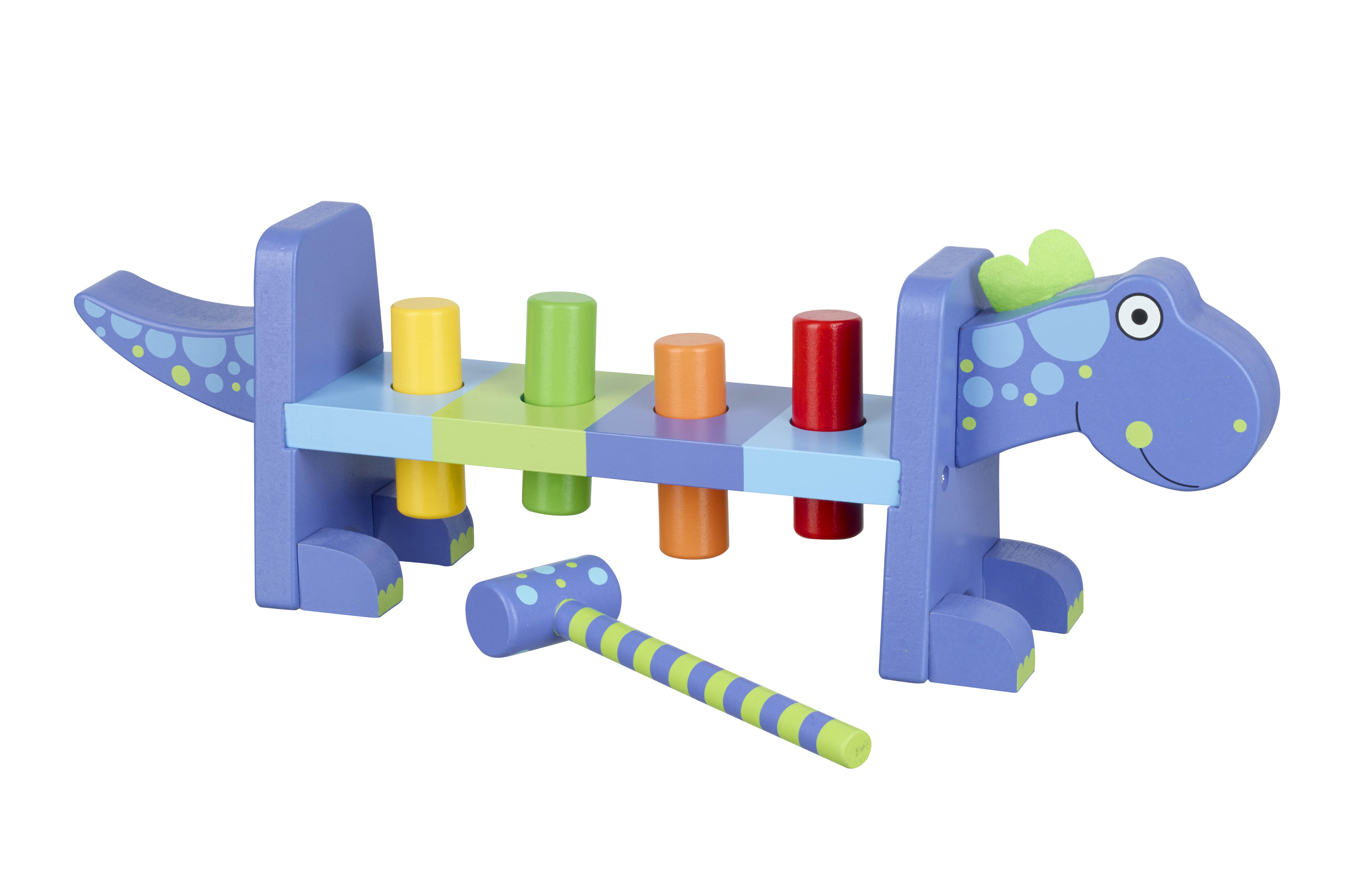 Играчка с чукче - Динозавър от Orange Tree Toys - Bellamiestore