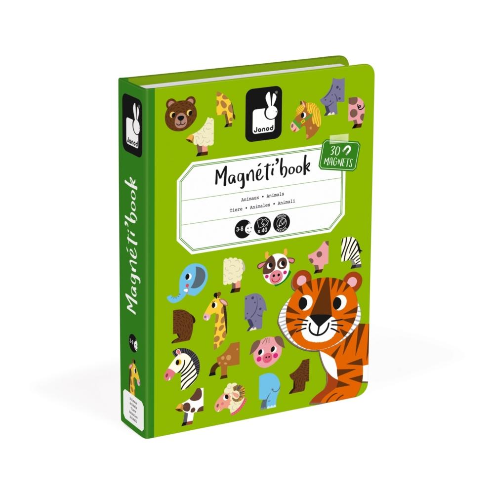 магнитна образователна игра- Животните от Janod- образователни играчки(2)-bellamiestore