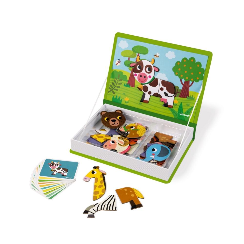 магнитна образователна игра- Животните от Janod- образователни играчки(1)-bellamiestore