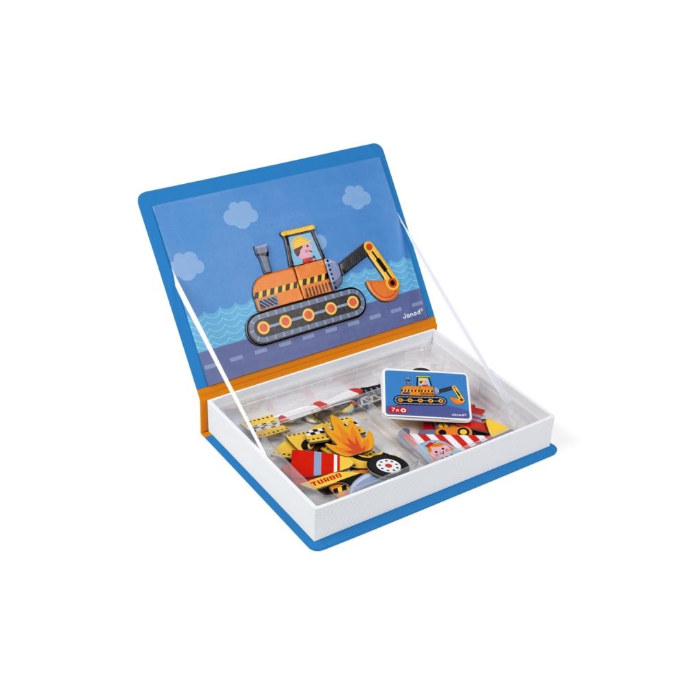 Магнитна образователна игра - Състезатели - образователни играчки от Janod-bellamiestore