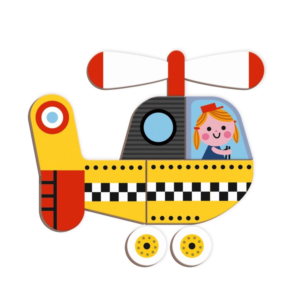 Магнитна образователна игра - Състезатели - образователни играчки от Janod(1)-bellamiestore
