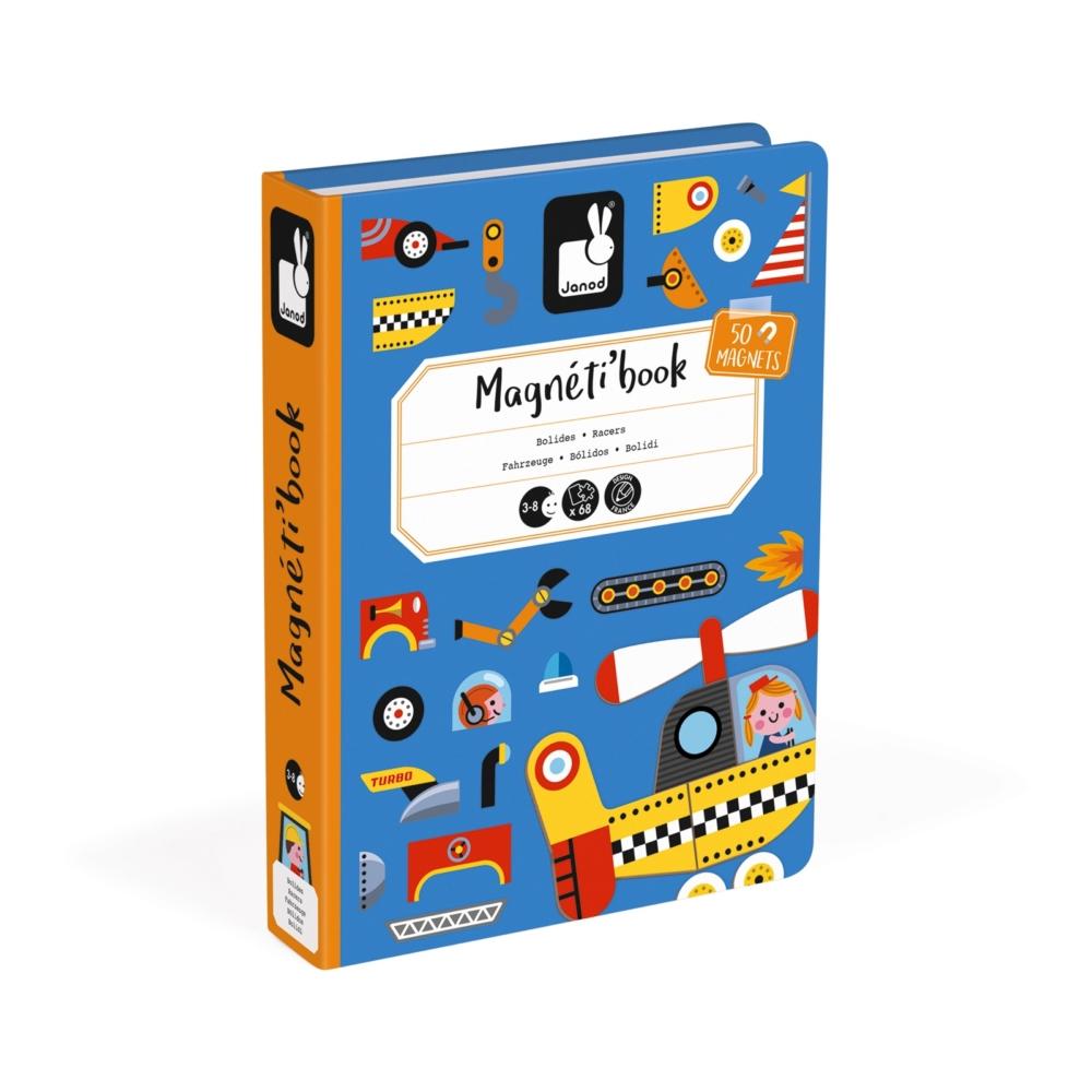 Магнитна образователна игра - Състезатели - образователни играчки от Janod(2)-bellamiestore