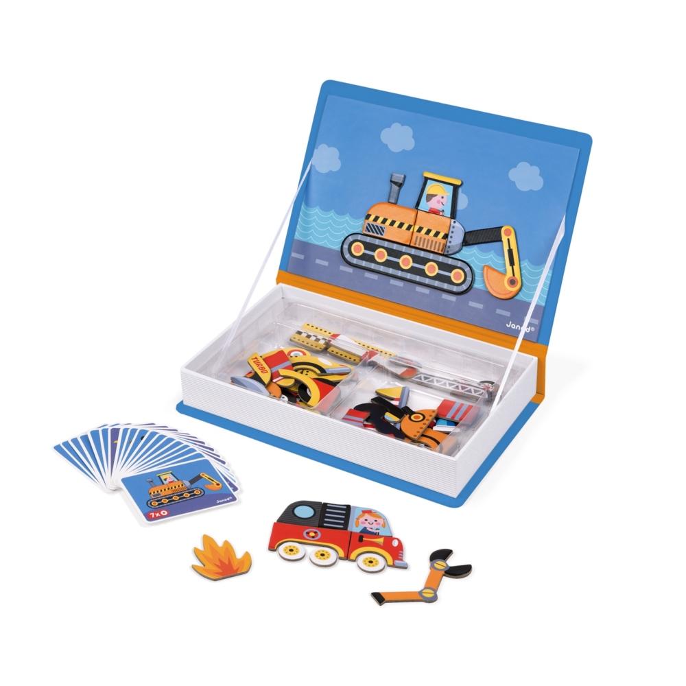 Магнитна образователна игра - Състезатели - образователни играчки от Janod(3)-bellamiestore