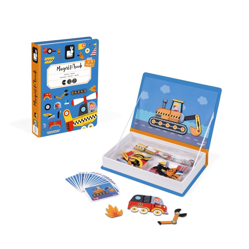 Магнитна образователна игра - Състезатели - образователни играчки от Janod(4)-bellamiestore