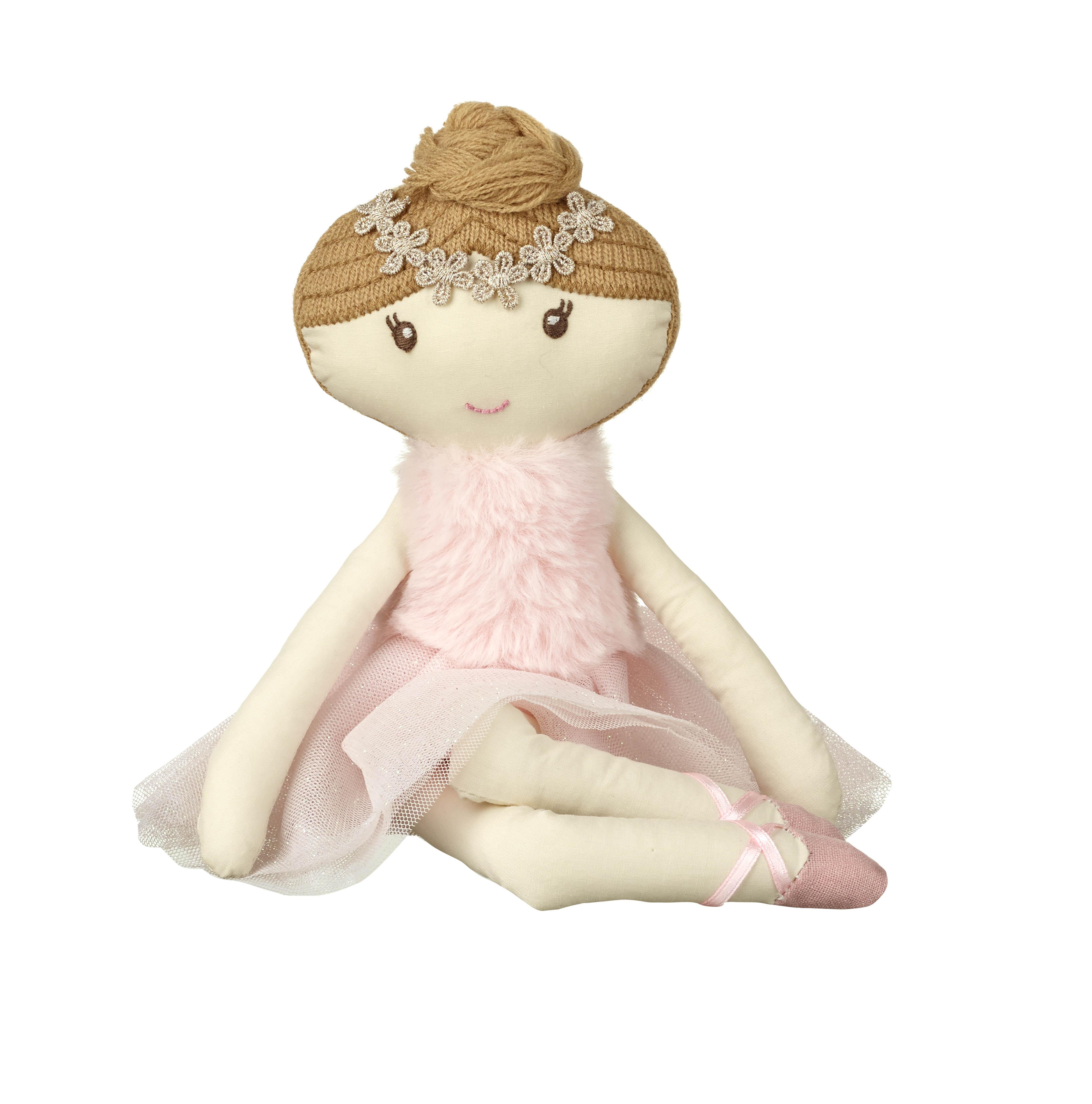 Детска мека кукла балерина - София от Orange Tree Toys - детска играчка за момичета - Bellamie