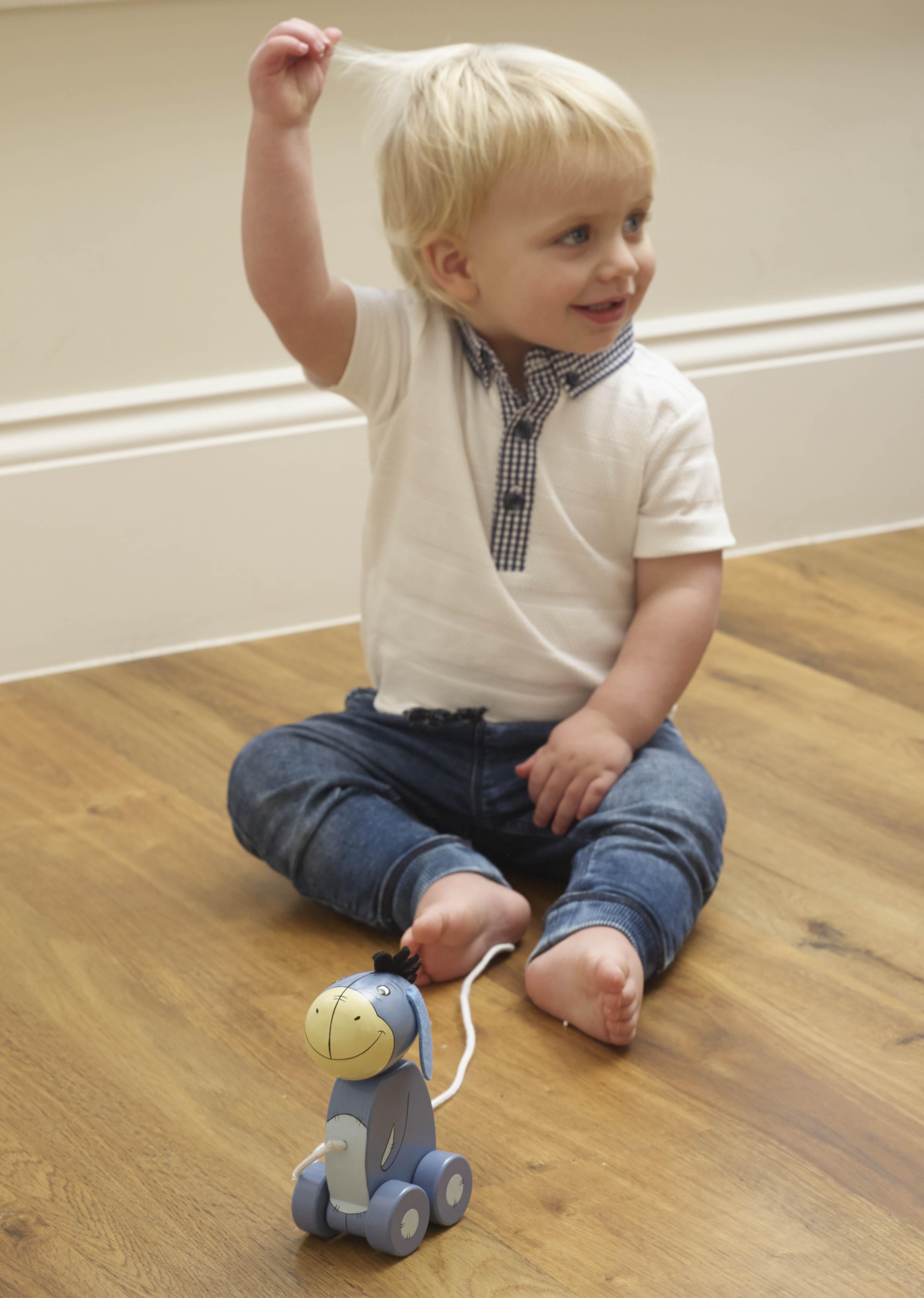Дървена играчка за дърпане - Йори от Orange Tree Toys - Bellamie