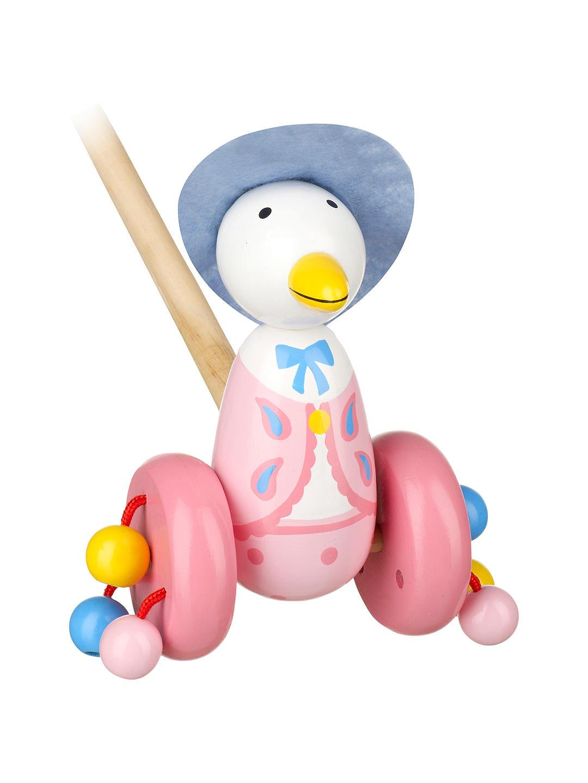 Детска буталка за прохождане – патицата Джемина от Orange Tree Toys – Бебешки играчки