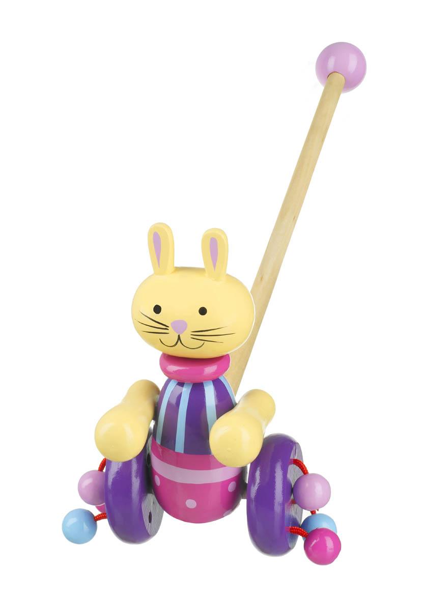 Детска играчка за бутане - Зайче от Orange Tree Toys - бебешка играчка - Bellamie