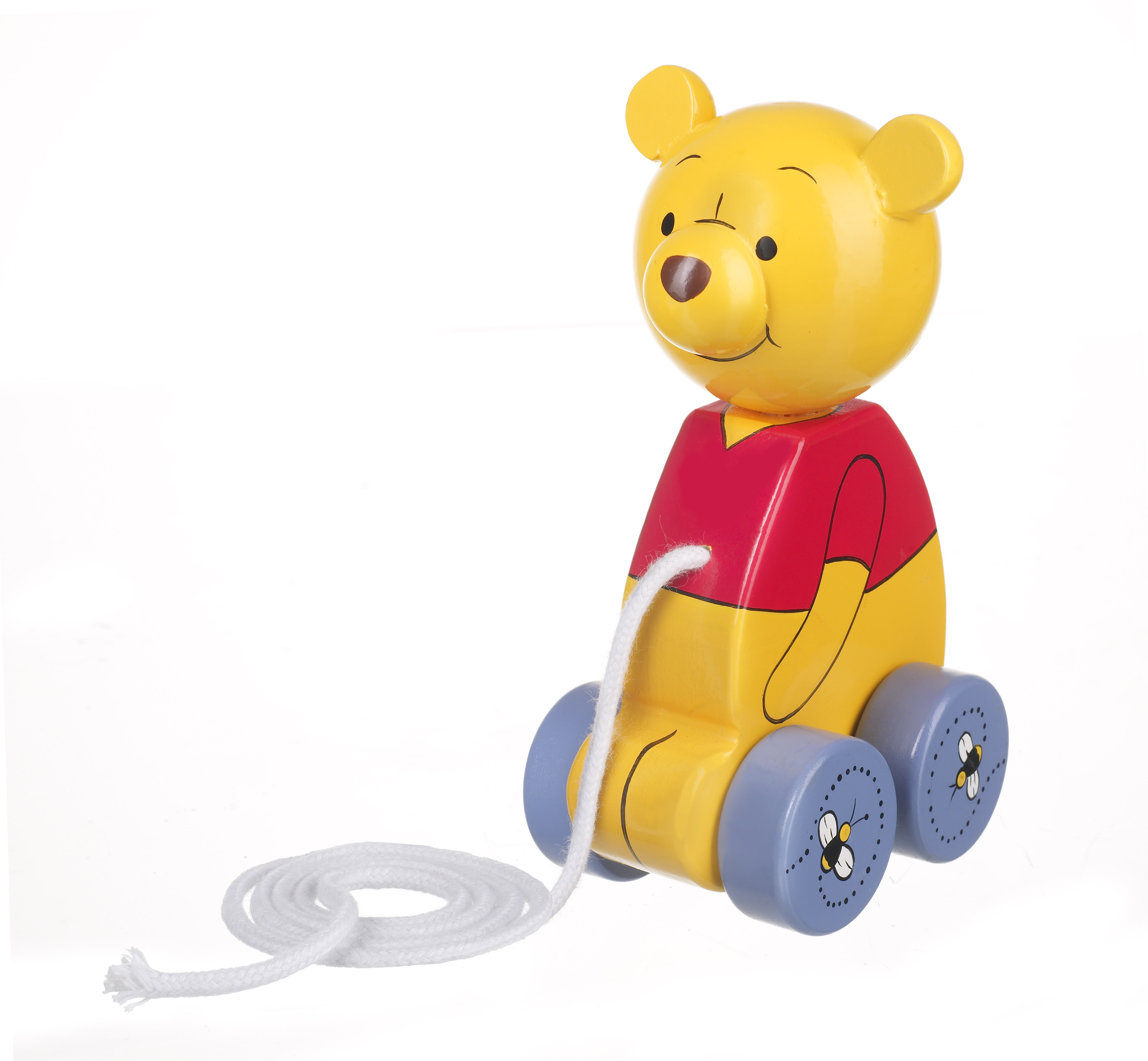 Детска играчка за дърпане - Мечо Пух от Orange Tree Toys - бебешки играчки - Bellamie
