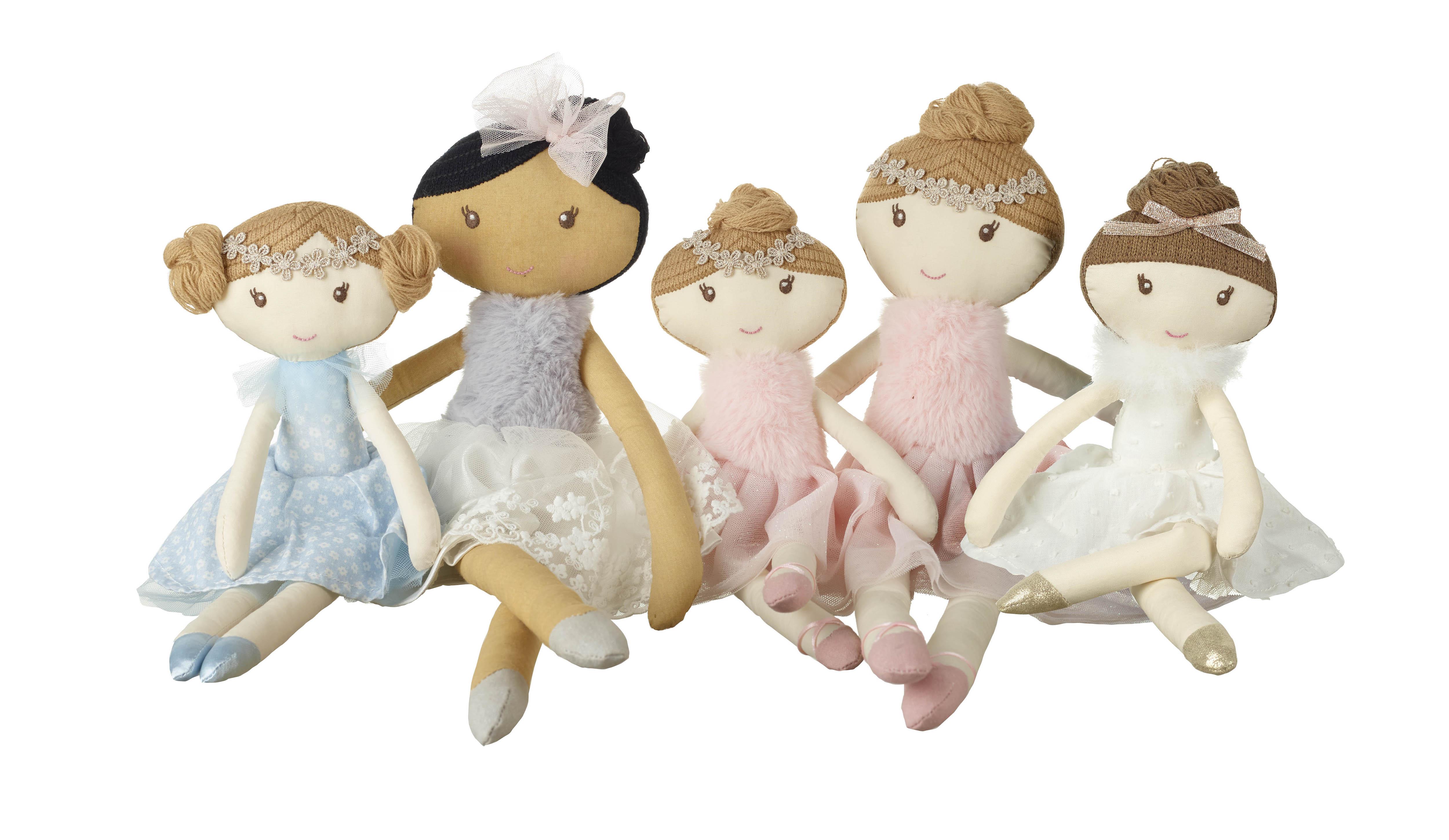 Детска кукла Лили 32 см - Orange Tree Toys - бебешка играчка - Bellamie