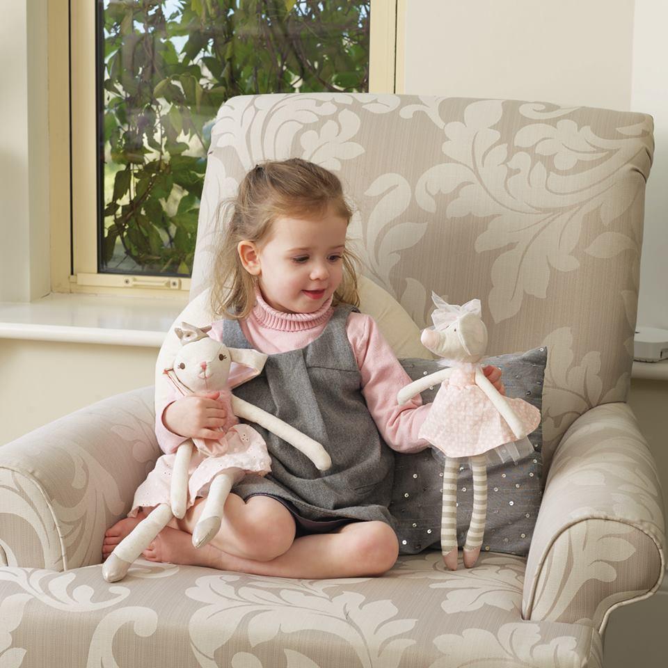 Детска кукла зайче от Orange Tree Toys - детски играчки за момичета - Bellamie