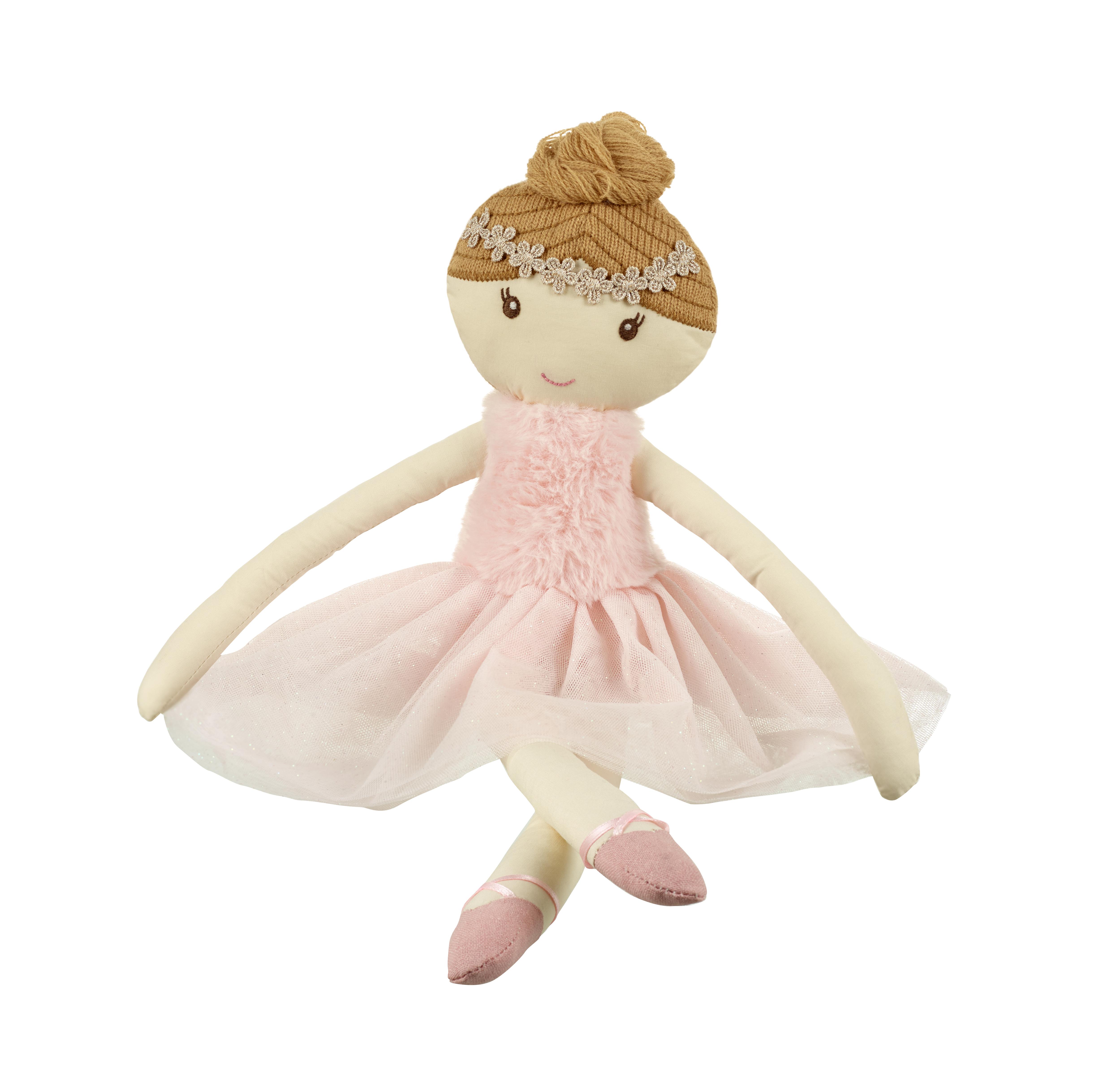 Детска мека кукла София 32 см от Orange Tree Toys - детска играчка за момичета - Bellamie
