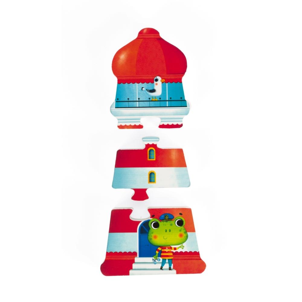 Детски дървен пъзел - Ваканция 3D- дървени играчки от Janod(2)-bellamiestore