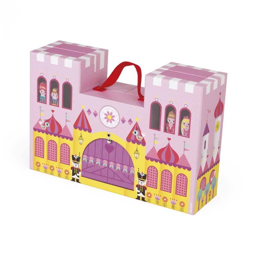 Детски пъзел и игрален комплект - Приказния замък - детски играчки за момичета и ролева игра от Janod(2)-bellamiestore