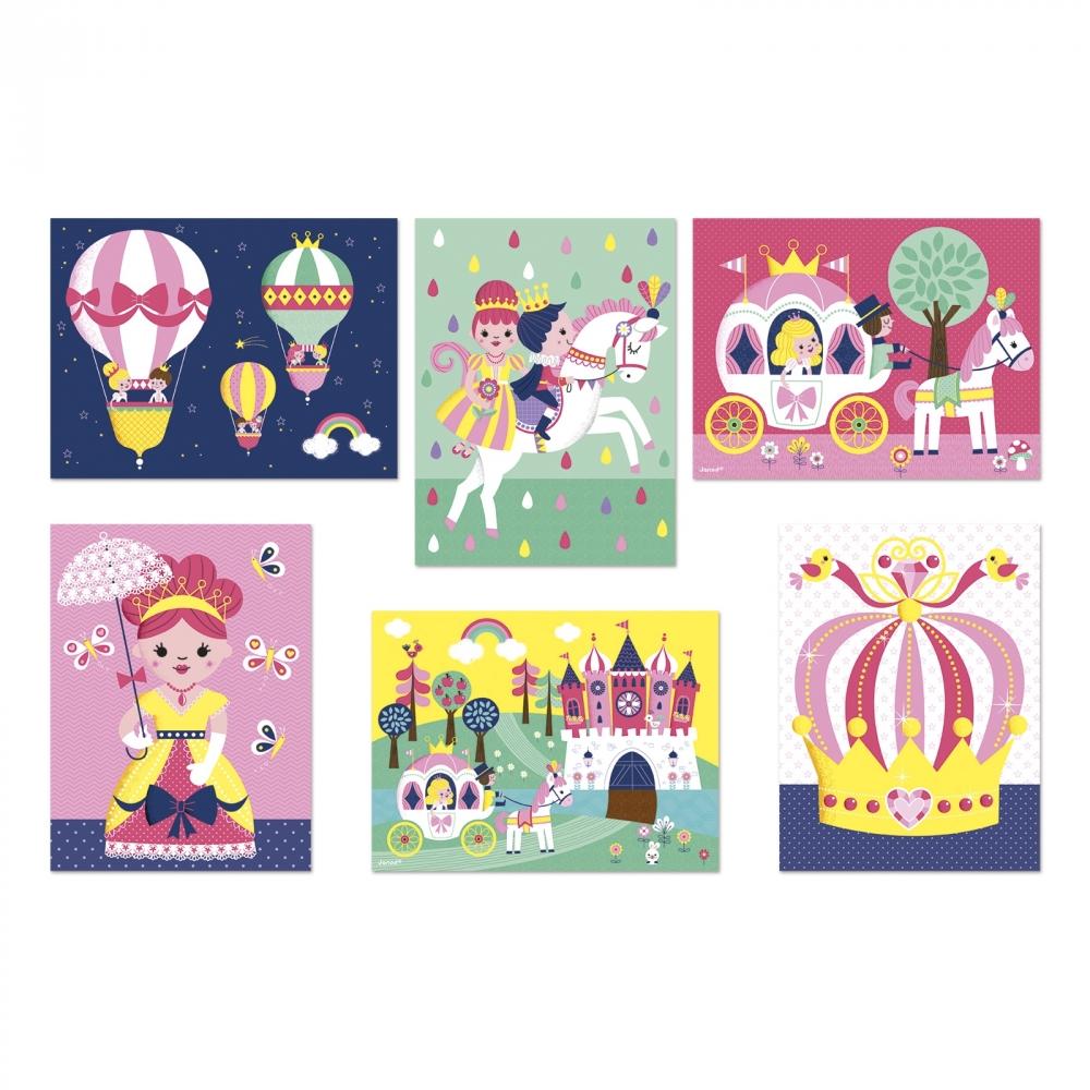 Детски пъзел от кубчета- Приказка- детски играчки за момичета от Janod(1)-bellamiestore
