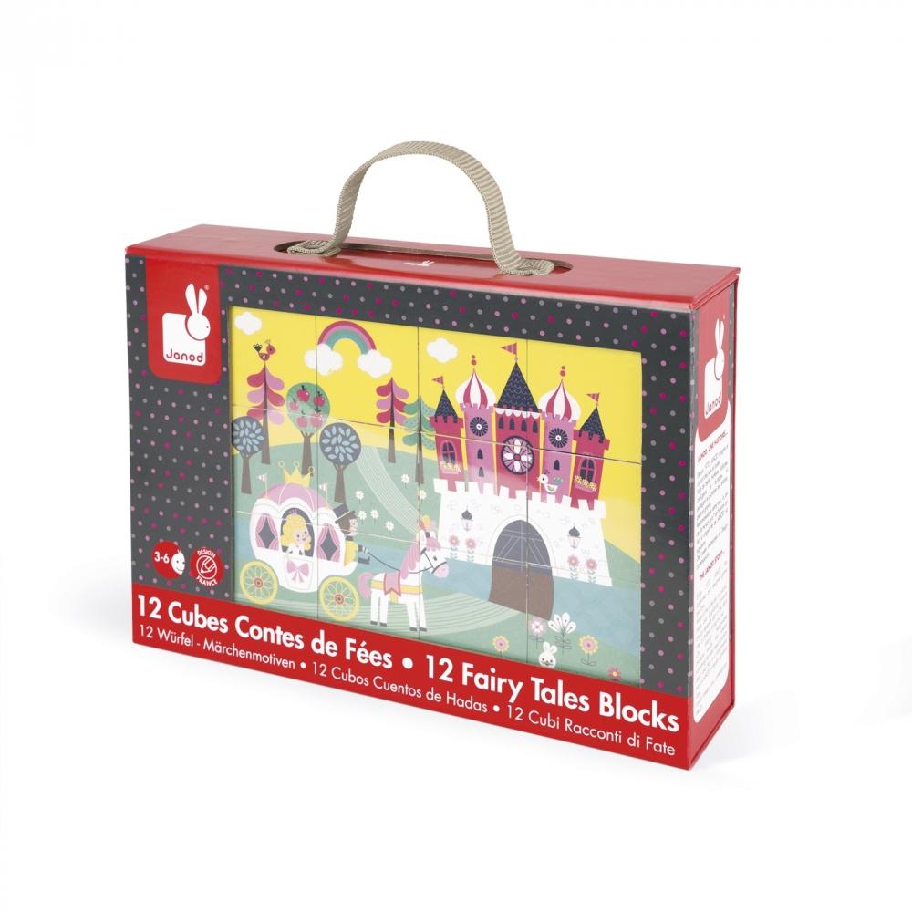 Детски пъзел от кубчета- Приказка- детски играчки за момичета от Janod(2)-bellamiestore