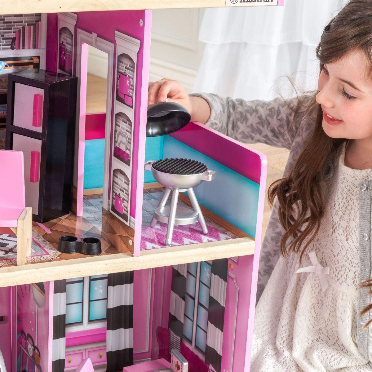Kidkraft дървена къща за кукли- Самър- детски играчки за момичета(4)Kidkraft дървена къща за кукли- Самър- детски играчки за момичета(11)-bellamiestore