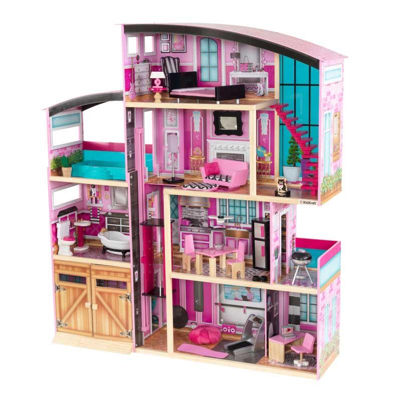 Kidkraft дървена къща за кукли- Самър- детски играчки за момичета(2)-bellamiestore