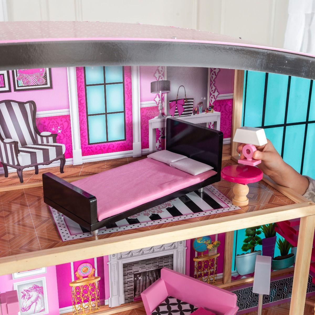 Kidkraft дървена къща за кукли- Самър- детски играчки за момичета(1)-bellamiestore