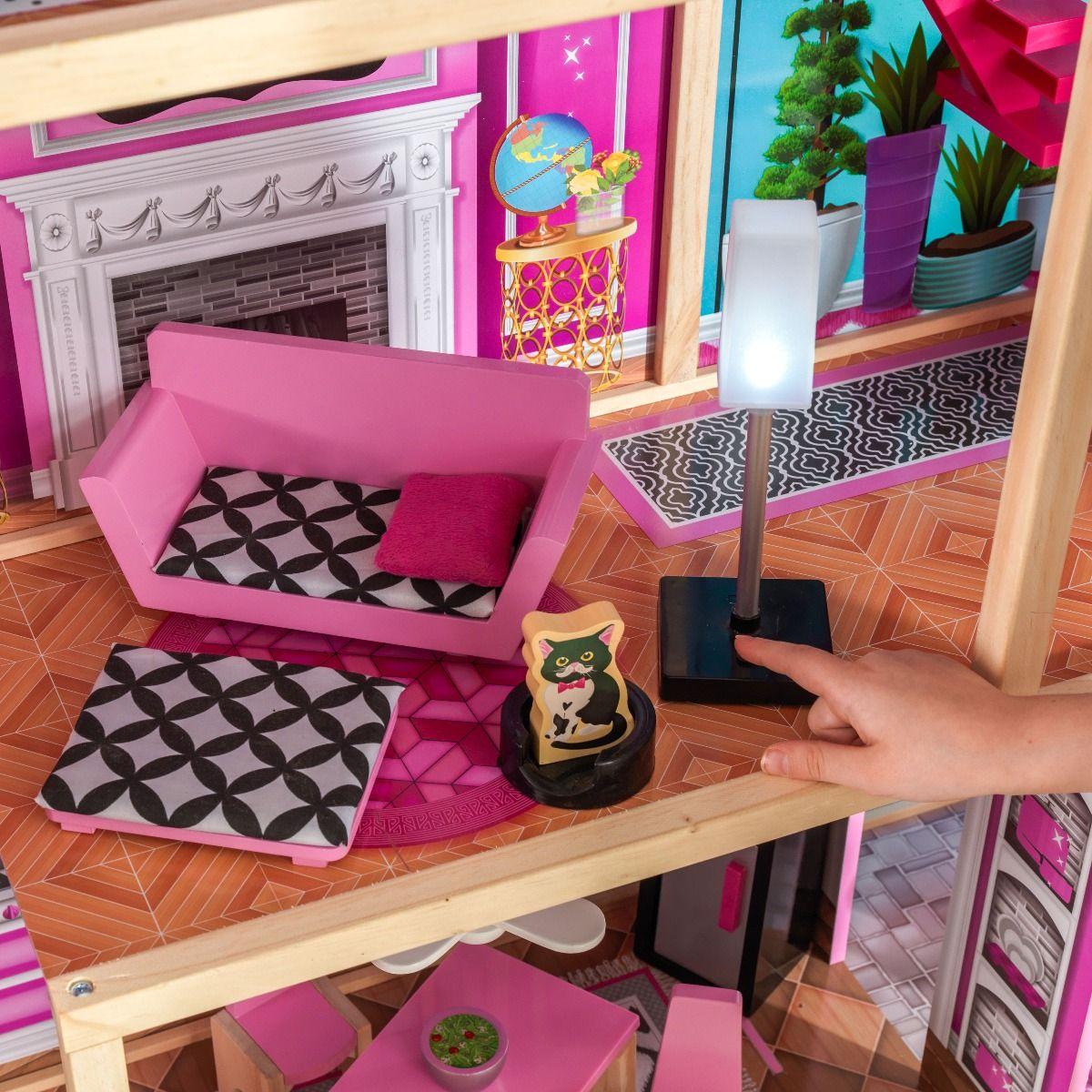 Kidkraft дървена къща за кукли- Самър- детски играчки за момичета-bellamiestore