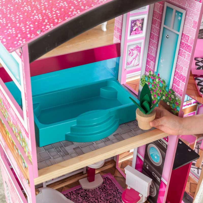 Kidkraft дървена къща за кукли- Самър- детски играчки за момичета(4)Kidkraft дървена къща за кукли- Самър- детски играчки за момичета(10)-bellamiestore