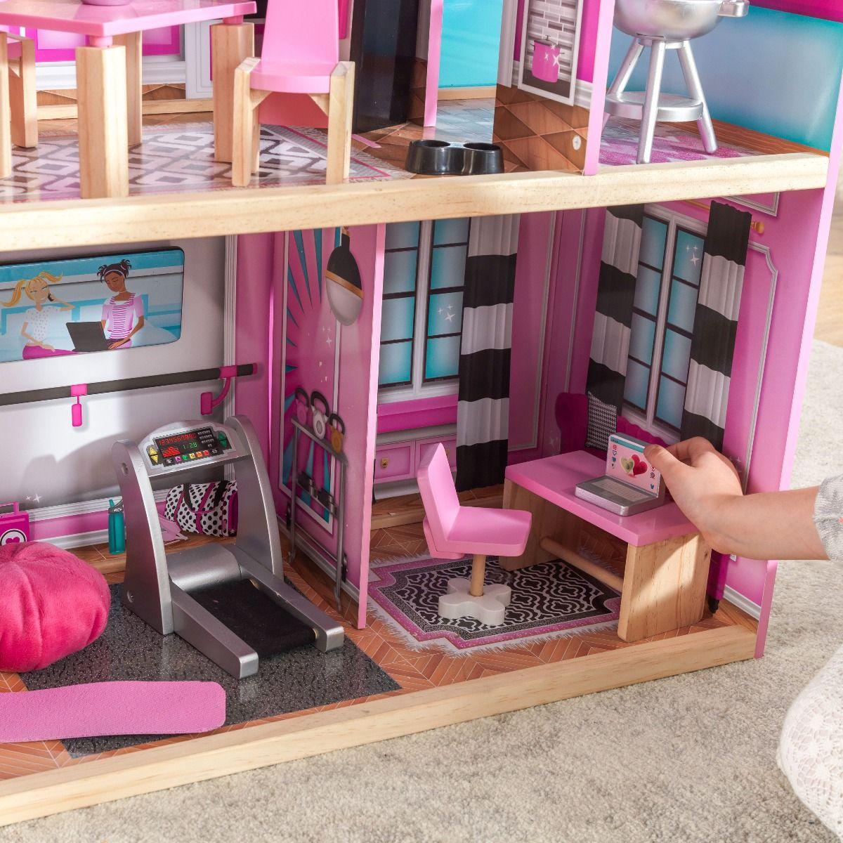 Kidkraft дървена къща за кукли- Самър- детски играчки за момичета(4)Kidkraft дървена къща за кукли- Самър- детски играчки за момичета(9)-bellamiestore